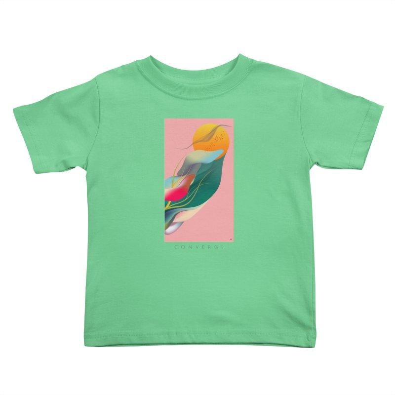 CONVERGE Kids Toddler T-Shirt by mu's Artist Shop