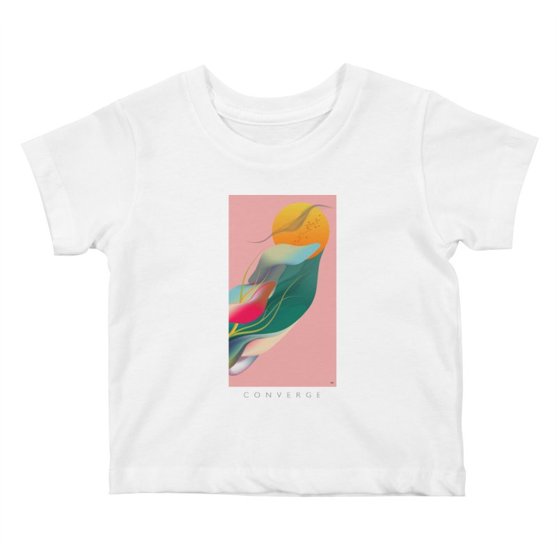 CONVERGE Kids Baby T-Shirt by mu's Artist Shop