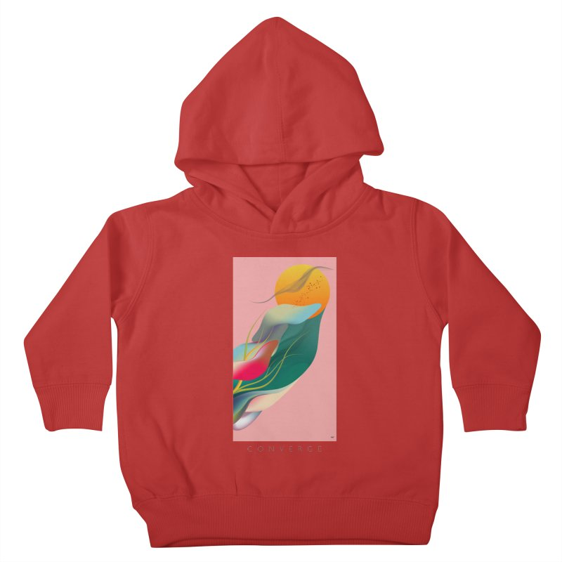 CONVERGE Kids Toddler Pullover Hoody by mu's Artist Shop