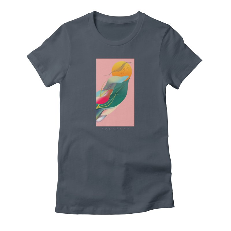 CONVERGE Women's T-Shirt by mu's Artist Shop