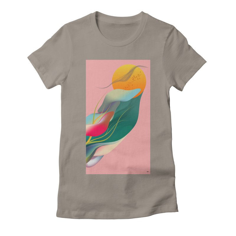 CONVERGE Women's Fitted T-Shirt by mu's Artist Shop