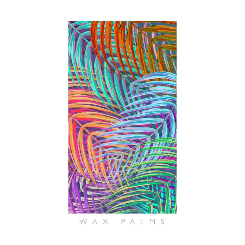 WAX PALMS Women's Triblend T-Shirt by mu's Artist Shop