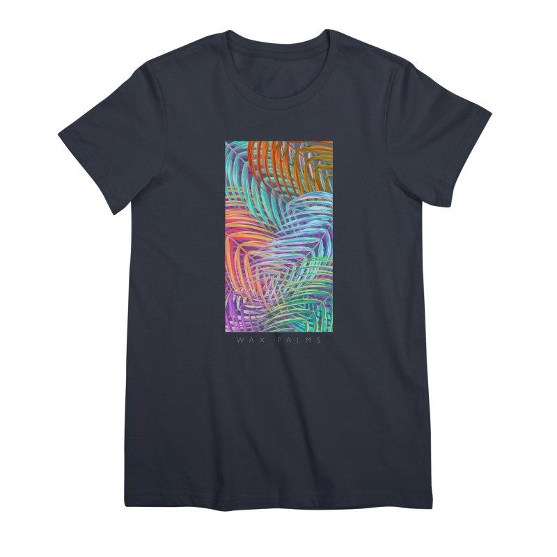 WAX PALMS Women's Premium T-Shirt by mu's Artist Shop