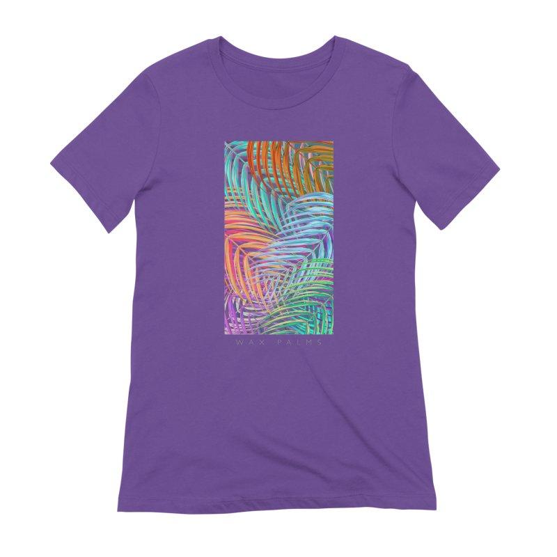 WAX PALMS Women's Extra Soft T-Shirt by mu's Artist Shop