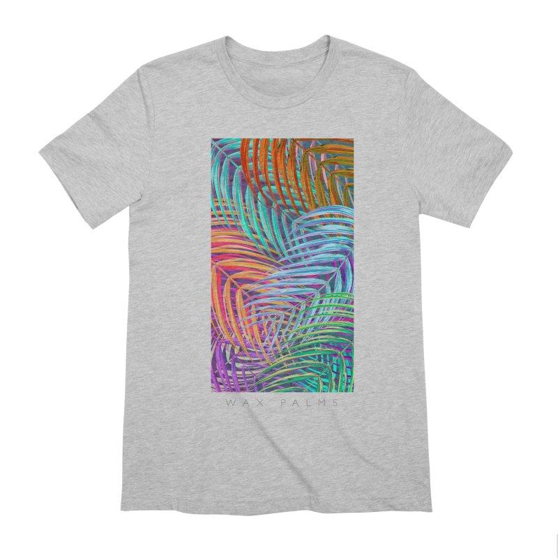 WAX PALMS Men's Extra Soft T-Shirt by mu's Artist Shop