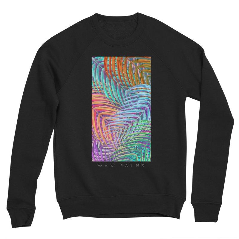 WAX PALMS Men's Sponge Fleece Sweatshirt by mu's Artist Shop