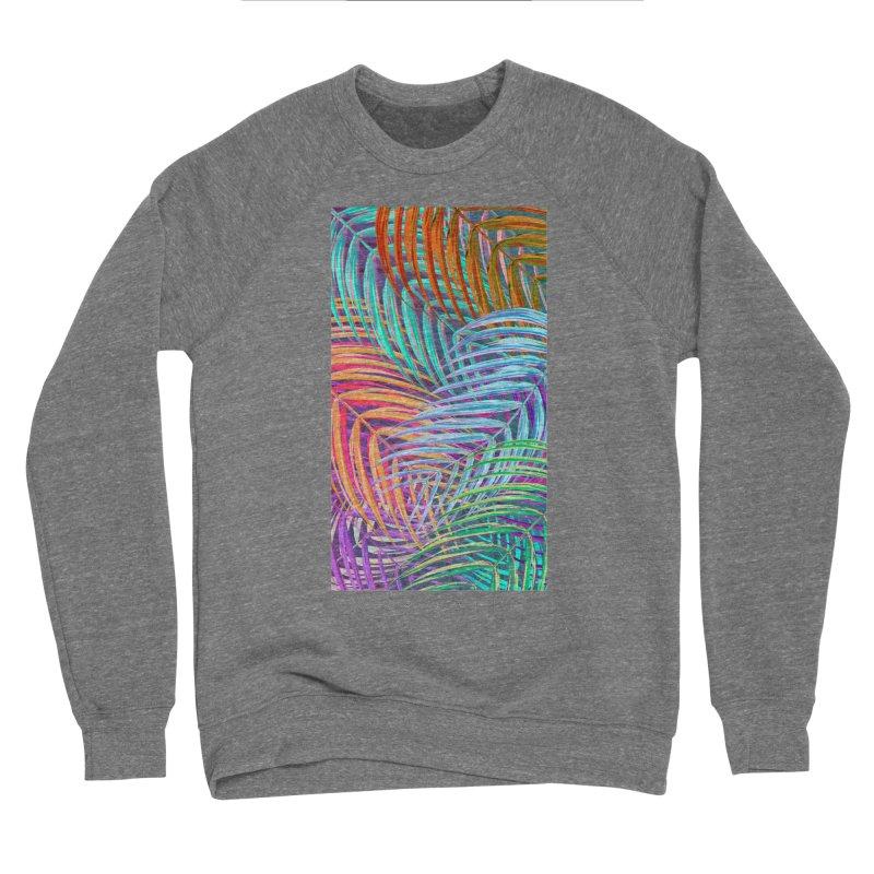 WAX PALMS Women's Sponge Fleece Sweatshirt by mu's Artist Shop