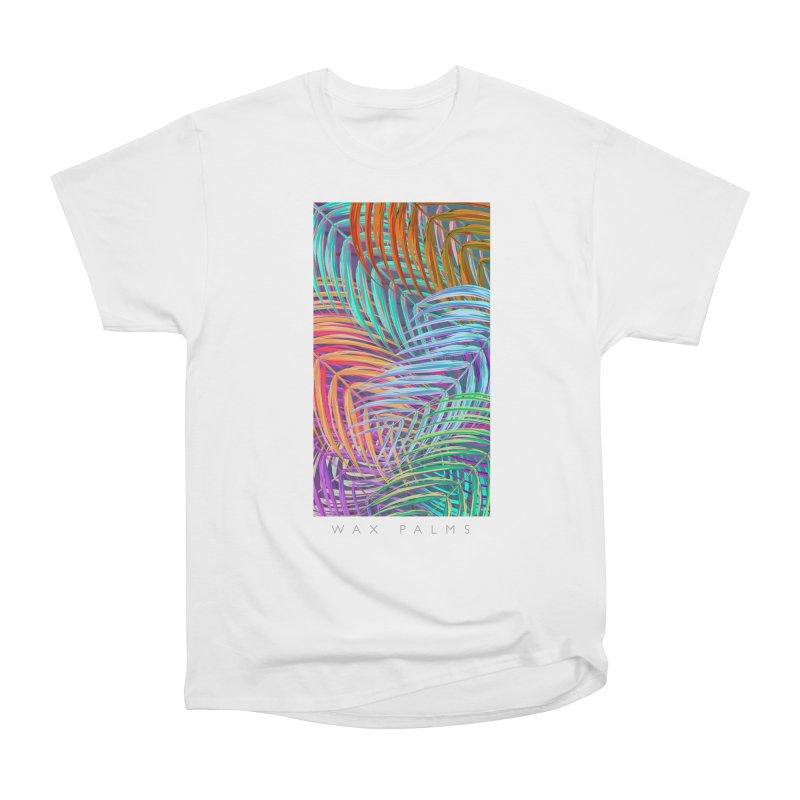 WAX PALMS Men's Heavyweight T-Shirt by mu's Artist Shop