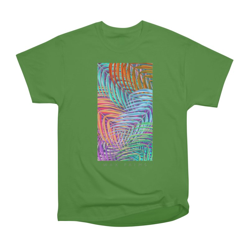 WAX PALMS Women's Classic Unisex T-Shirt by mu's Artist Shop