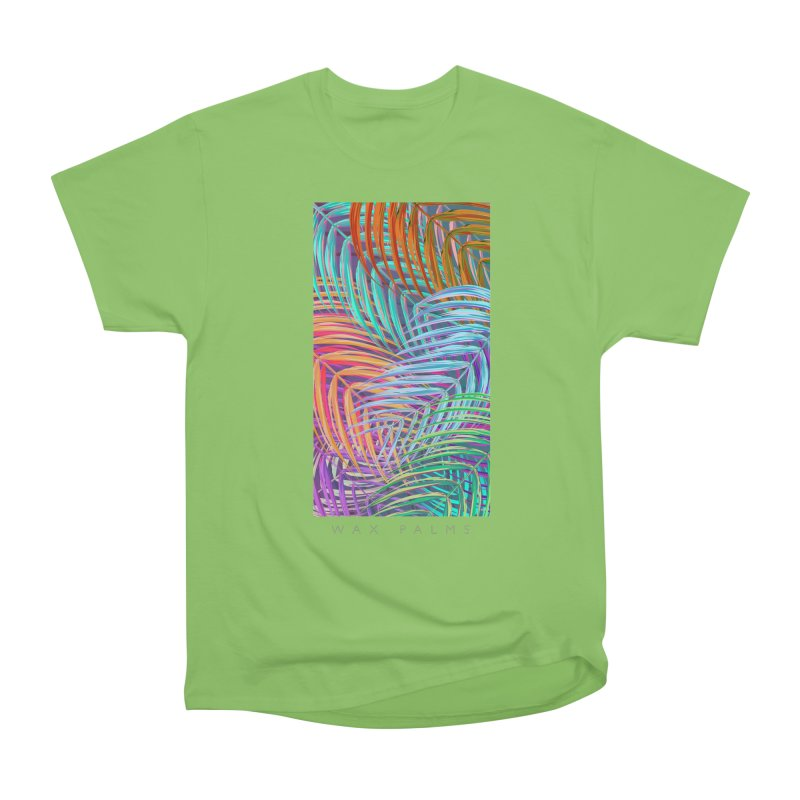 WAX PALMS Women's Heavyweight Unisex T-Shirt by mu's Artist Shop