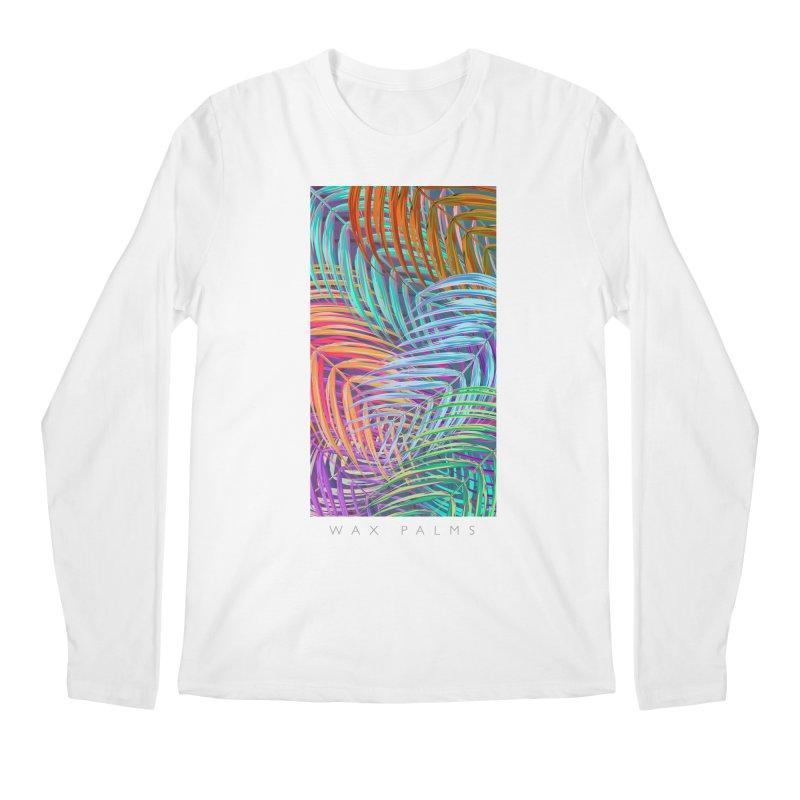 WAX PALMS Men's Regular Longsleeve T-Shirt by mu's Artist Shop