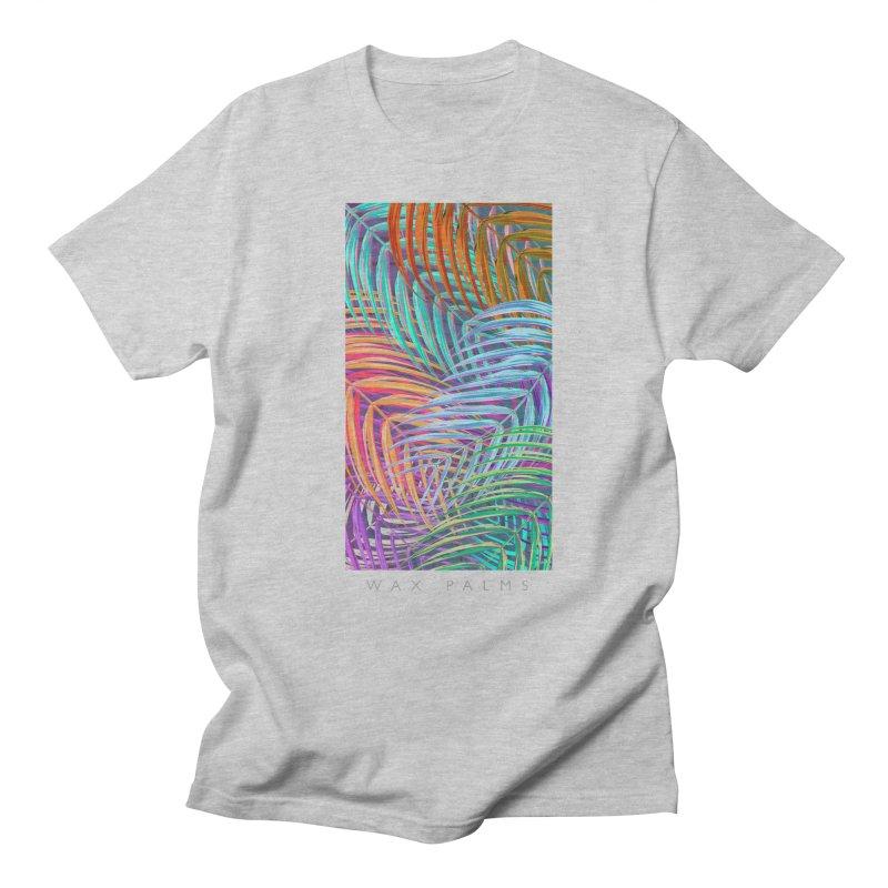 WAX PALMS Women's Unisex T-Shirt by mu's Artist Shop
