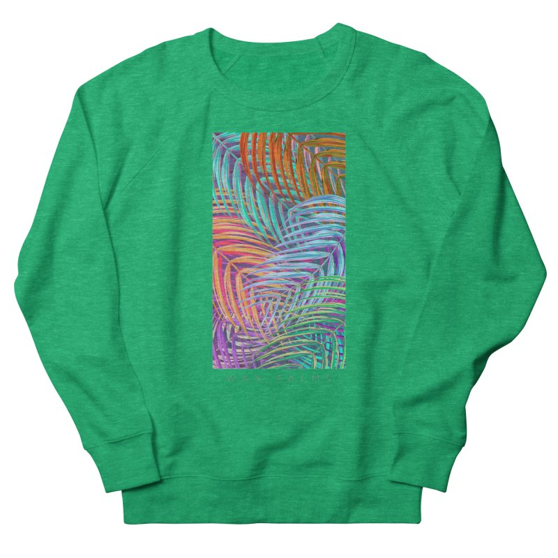 WAX PALMS Men's Sweatshirt by mu's Artist Shop