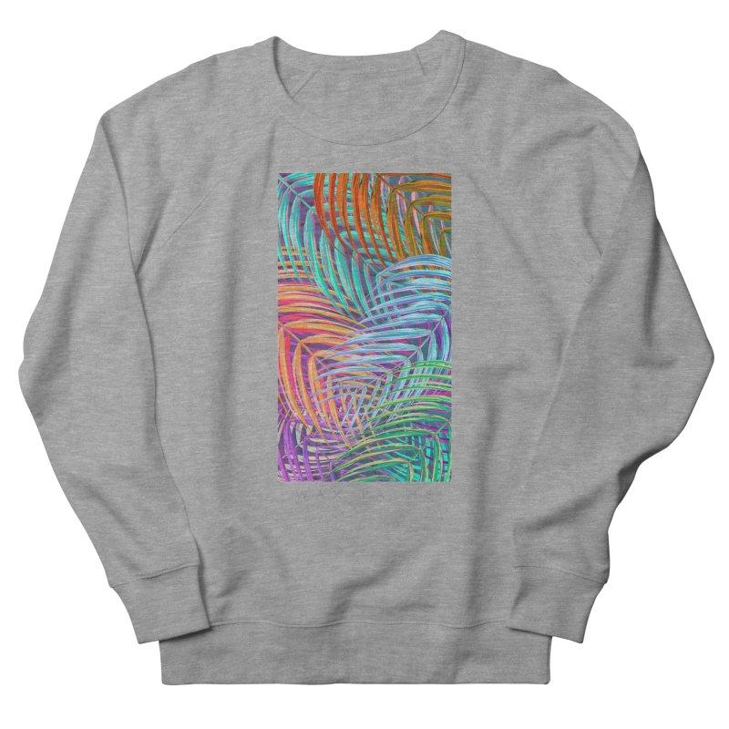 WAX PALMS Men's French Terry Sweatshirt by mu's Artist Shop