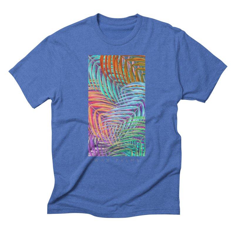WAX PALMS Men's Triblend T-Shirt by mu's Artist Shop
