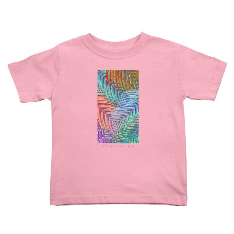 WAX PALMS Kids Toddler T-Shirt by mu's Artist Shop