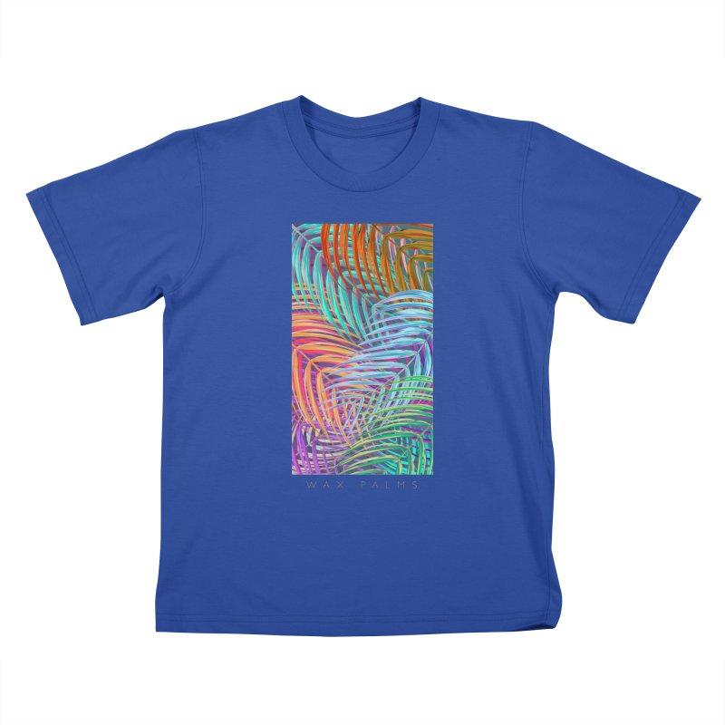 WAX PALMS Kids T-Shirt by mu's Artist Shop