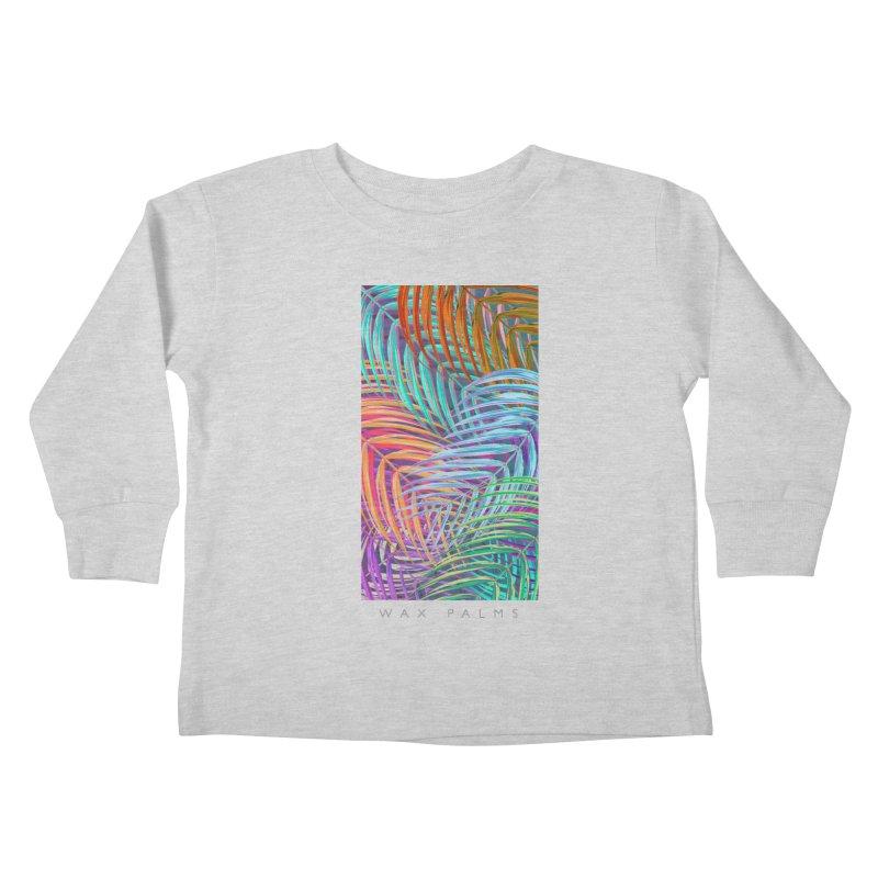 WAX PALMS Kids Toddler Longsleeve T-Shirt by mu's Artist Shop