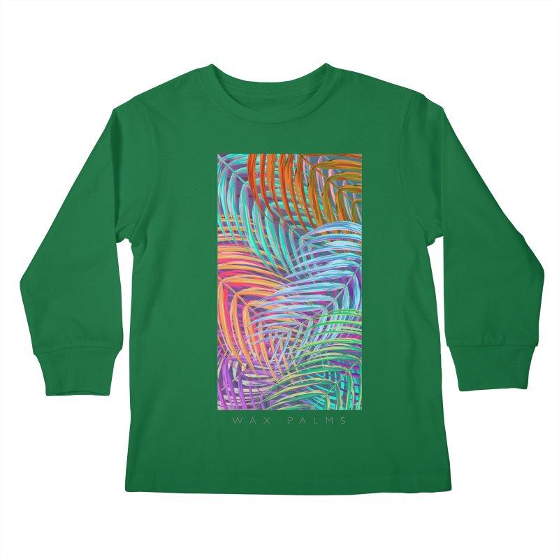 WAX PALMS Kids Longsleeve T-Shirt by mu's Artist Shop