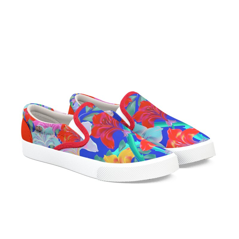 THE GARDEN Women's Slip-On Shoes by mu's Artist Shop