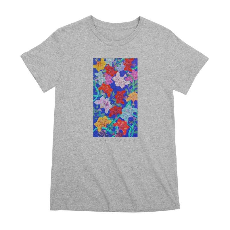 THE GARDEN Women's Premium T-Shirt by mu's Artist Shop