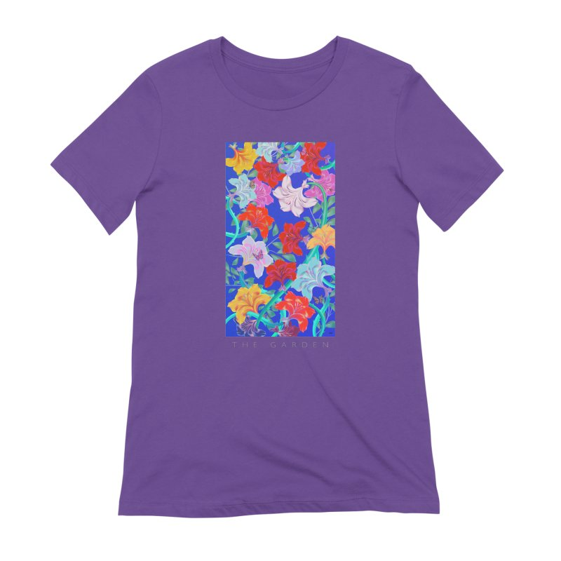 THE GARDEN Women's Extra Soft T-Shirt by mu's Artist Shop