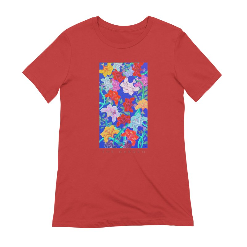 THE GARDEN Women's Extra Soft T-Shirt by mu's Artist Shop
