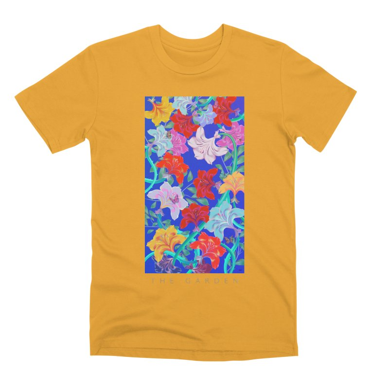 THE GARDEN Men's Premium T-Shirt by mu's Artist Shop
