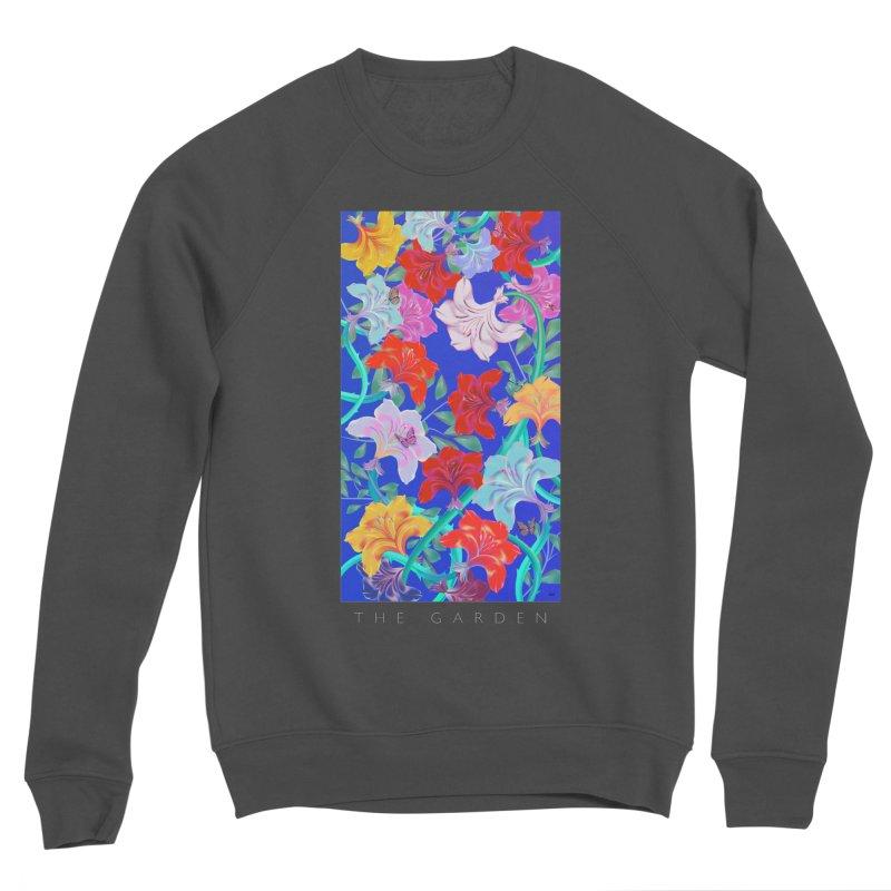 THE GARDEN Men's Sponge Fleece Sweatshirt by mu's Artist Shop