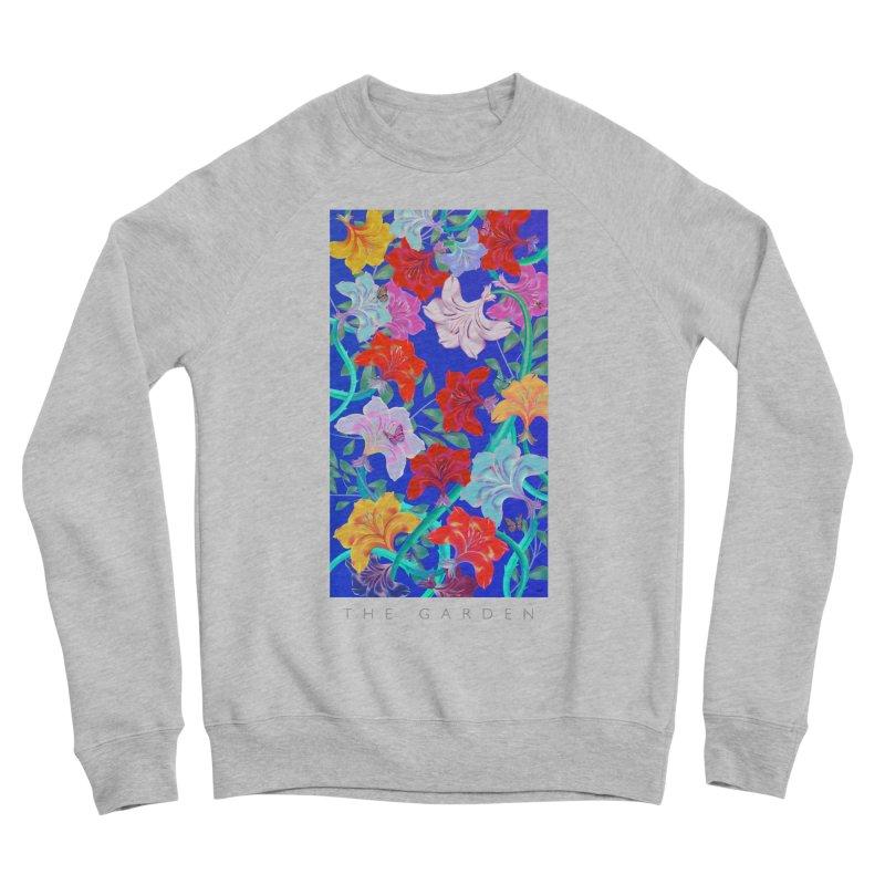 THE GARDEN Women's Sponge Fleece Sweatshirt by mu's Artist Shop