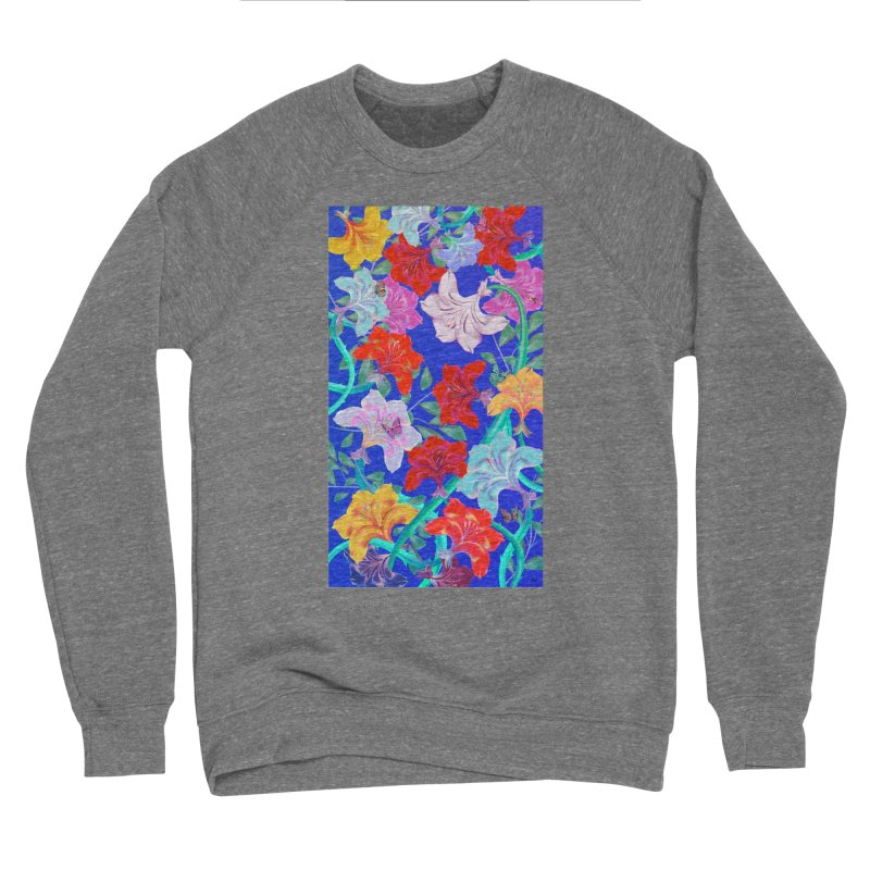 THE GARDEN Women's Sponge Fleece Sweatshirt by mu's Artist Shop