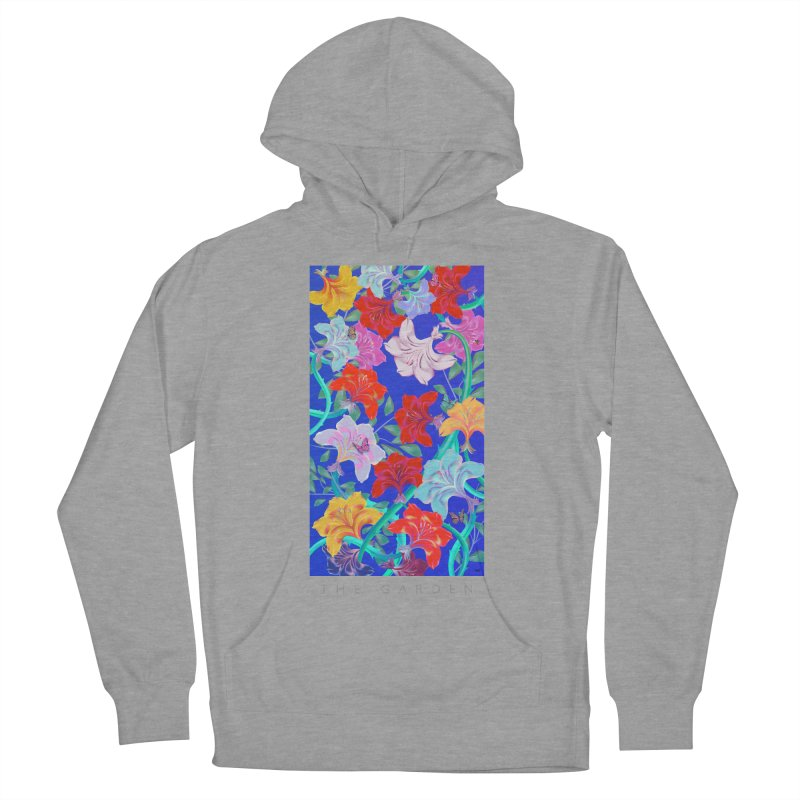 THE GARDEN Women's French Terry Pullover Hoody by mu's Artist Shop