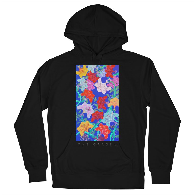 THE GARDEN Men's French Terry Pullover Hoody by mu's Artist Shop