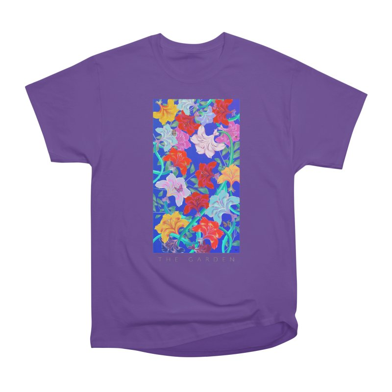 THE GARDEN Women's Heavyweight Unisex T-Shirt by mu's Artist Shop