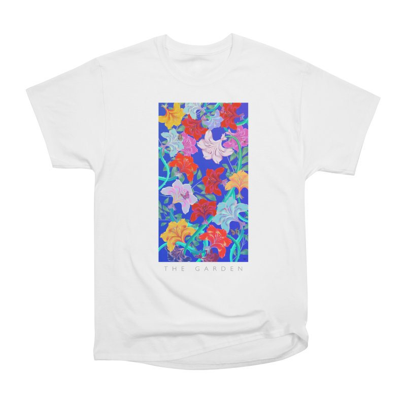 THE GARDEN Women's Heavyweight Unisex T-Shirt by mu's Artist Shop