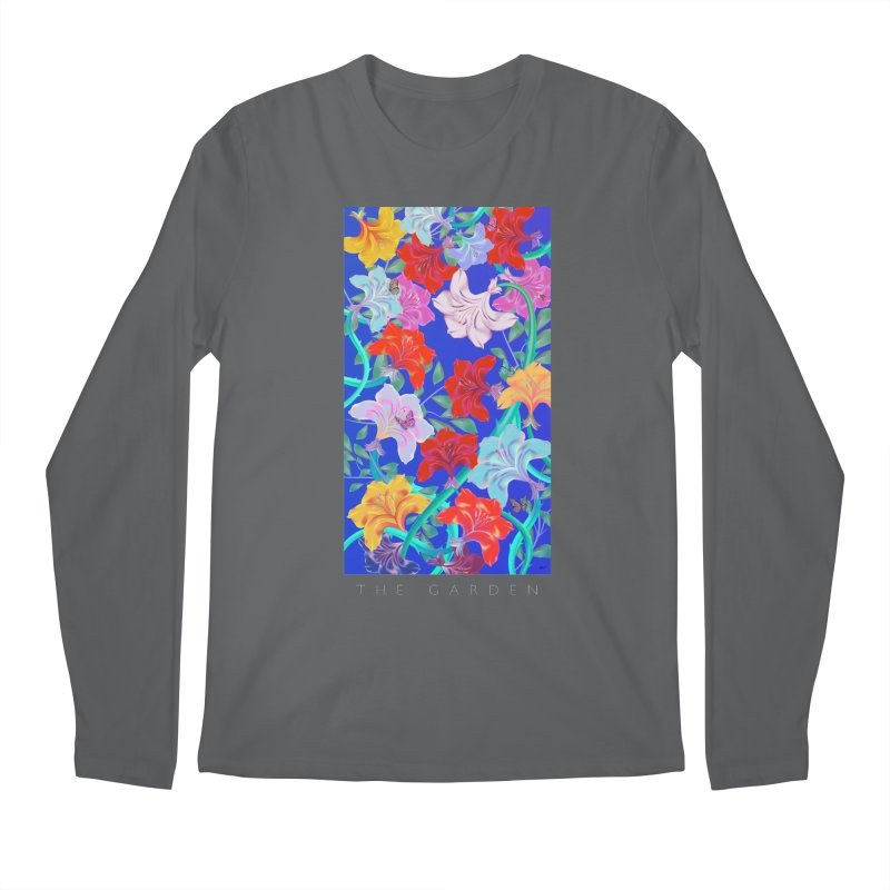 THE GARDEN Men's Longsleeve T-Shirt by mu's Artist Shop