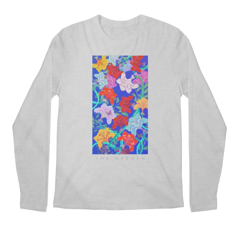 THE GARDEN Men's Regular Longsleeve T-Shirt by mu's Artist Shop