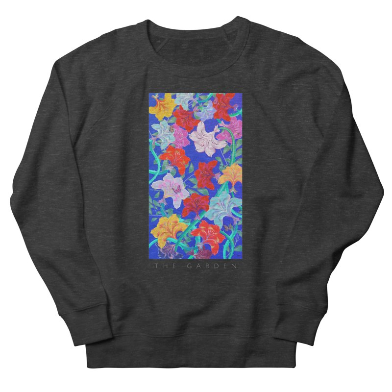 THE GARDEN Women's French Terry Sweatshirt by mu's Artist Shop
