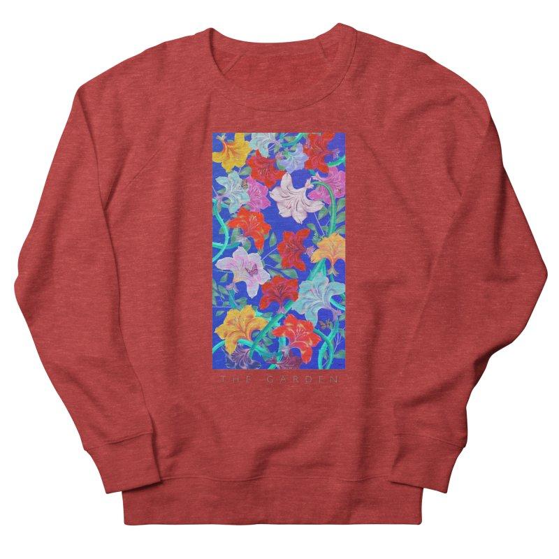 THE GARDEN Women's French Terry Sweatshirt by mu's Artist Shop