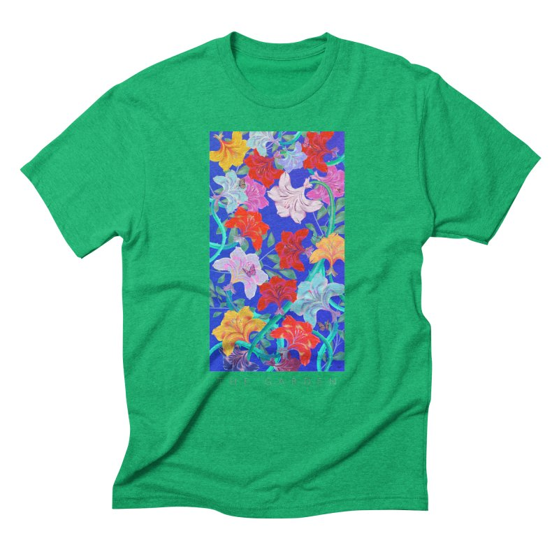 THE GARDEN Men's Triblend T-Shirt by mu's Artist Shop