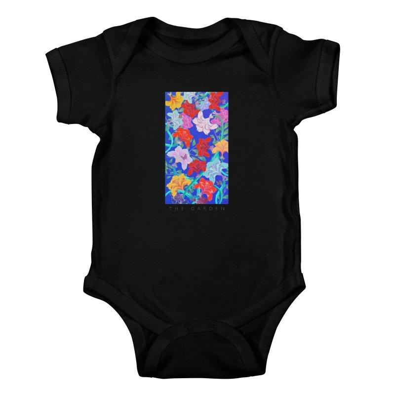 THE GARDEN Kids Baby Bodysuit by mu's Artist Shop