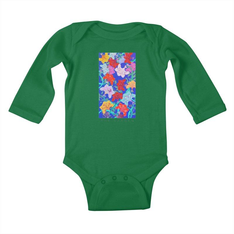 THE GARDEN Kids Baby Longsleeve Bodysuit by mu's Artist Shop