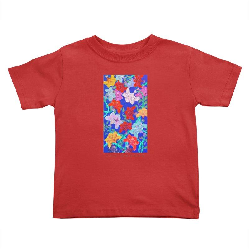 THE GARDEN Kids Toddler T-Shirt by mu's Artist Shop