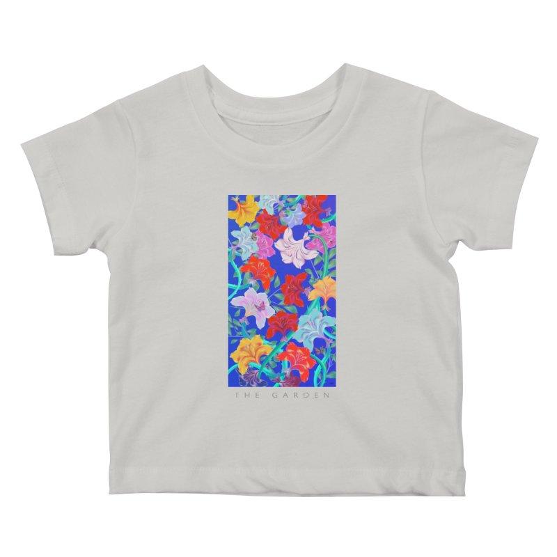THE GARDEN Kids Baby T-Shirt by mu's Artist Shop