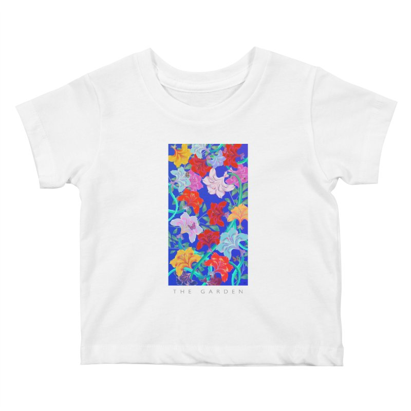 THE GARDEN Kids Baby T-Shirt by mu's Artist Shop