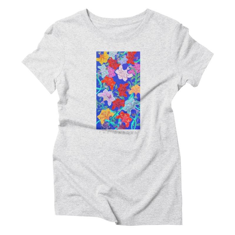 THE GARDEN Women's T-Shirt by mu's Artist Shop