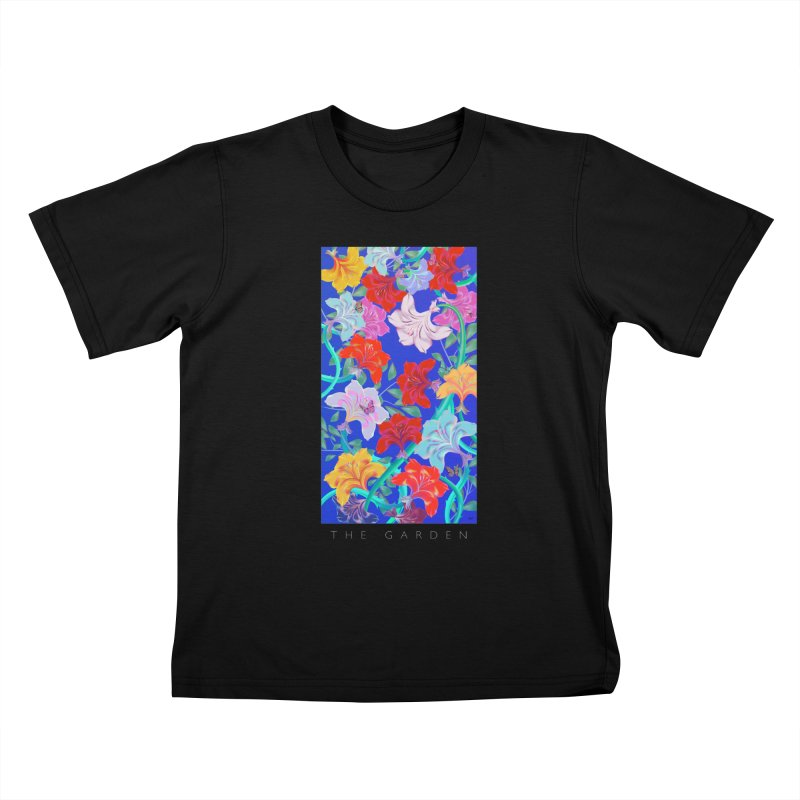 THE GARDEN Kids T-Shirt by mu's Artist Shop