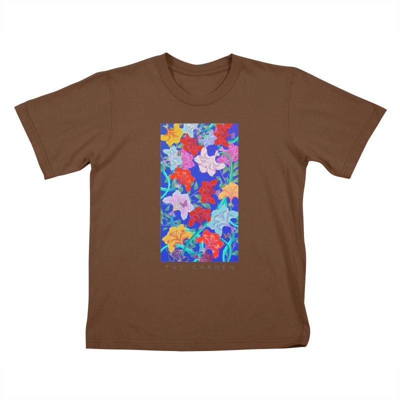 THE GARDEN Kids T-Shirt by mu's Artist Shop