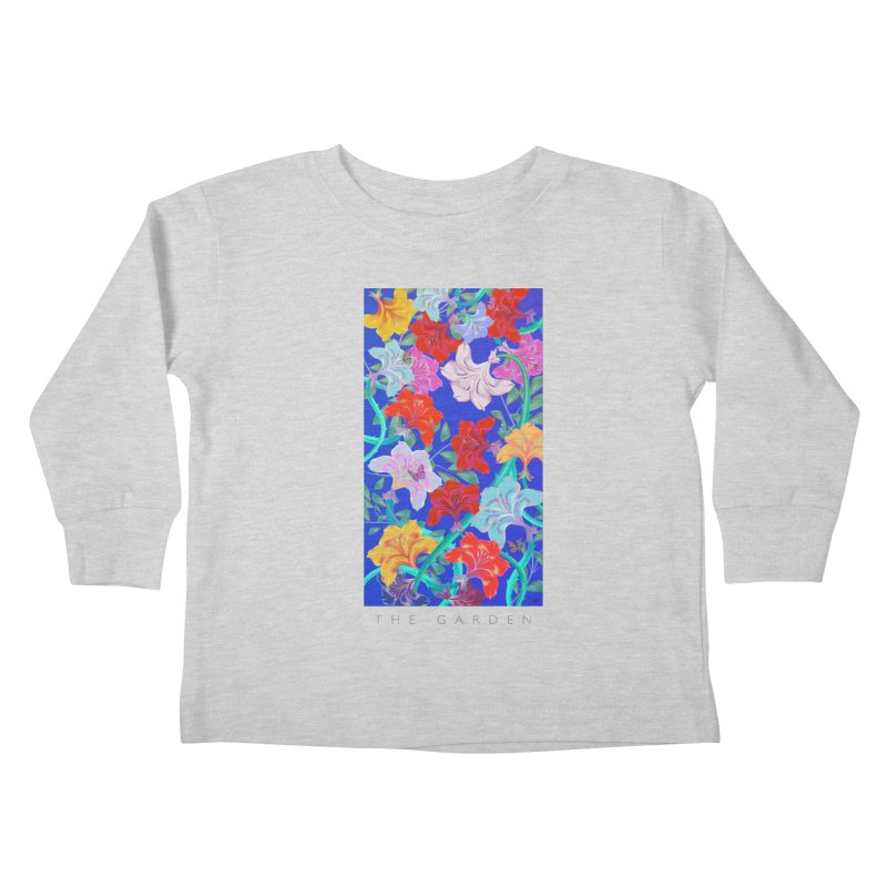 THE GARDEN Kids Toddler Longsleeve T-Shirt by mu's Artist Shop