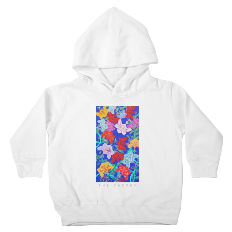 THE GARDEN Kids Toddler Pullover Hoody by mu's Artist Shop